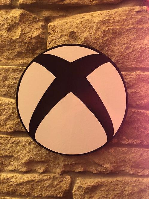 Handmade Wooden XBOX 2020 design Logo