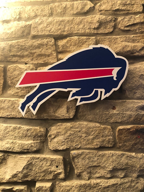 imake NFL Buffalo Bills 2020 Wooden wall logo
