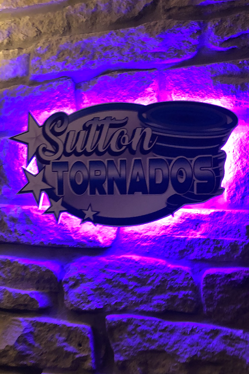 imake Sutton Tornados Wall Light with remote control