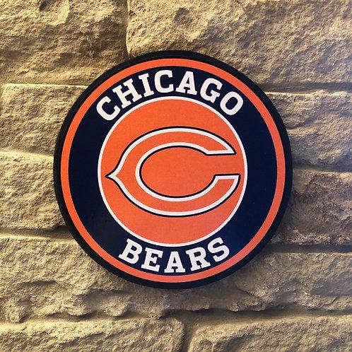imake Chicago Bears Wall Badge