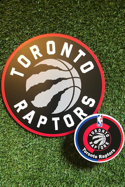imake NBA Toronto Raptors  Wooden Wall Badge