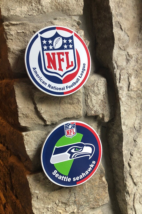 The NFL & Leagues Wall Disc's or Coasters