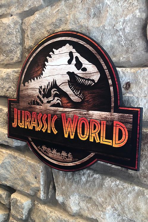 Jurassic World (New Netflix addition) Wooden Wall  Plaque