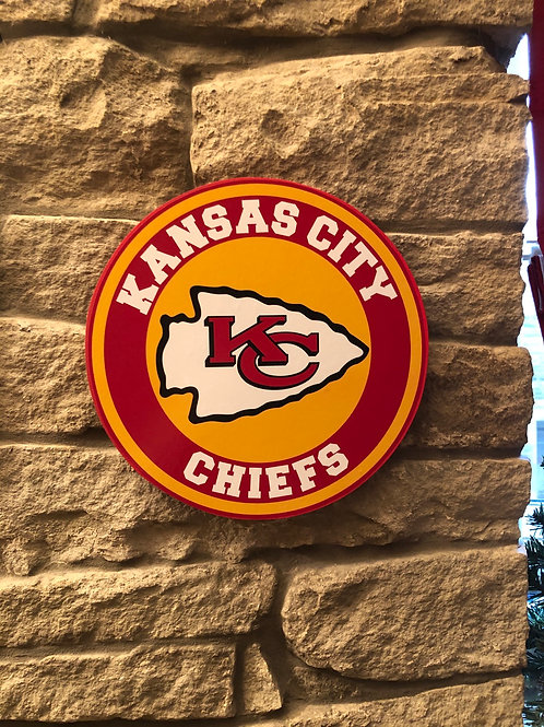 imake NFL Kansas City Chiefs Wall Badge