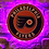 Thumbnail: imake NHL Philadelphia Flyers Wall Light (Remote Control Operating included)