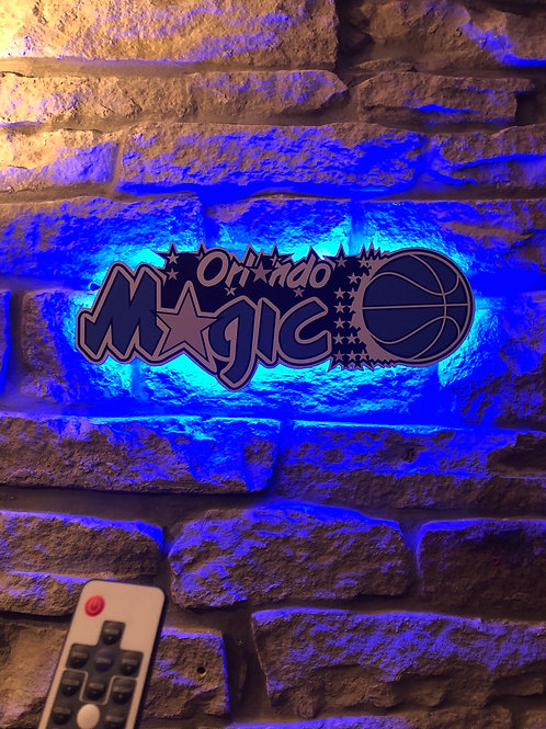imake NBA Orlando Magic Wall Light with remote control