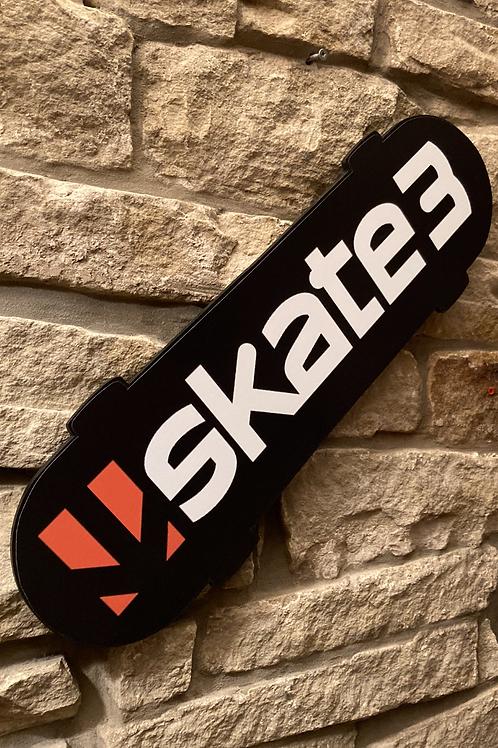 Skate 3 Wooden Wall Skateboard