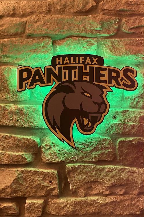 Halifax Panthers RL Wall Light AWAY COLOURS