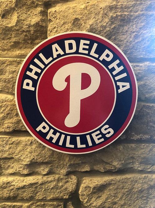 imake MLB Philadelphia Phillies Wall Badge