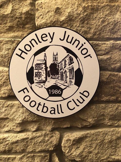 imake Honley FC Junior Amateur Club Wall Badge