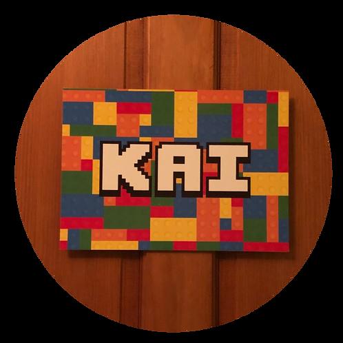 Lego Personalised Sign