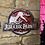 Thumbnail: Jurassic Park 3 Wooden Wall Badge