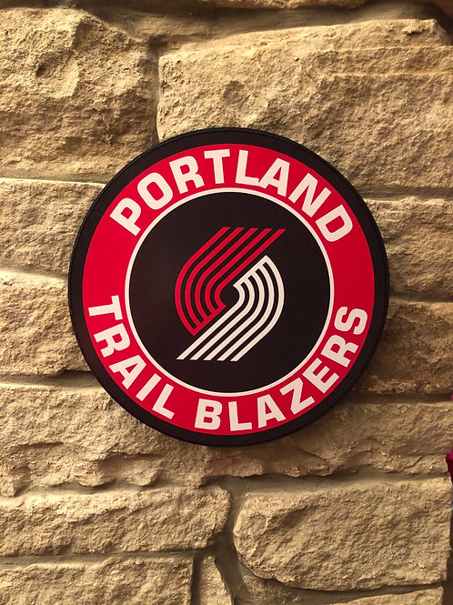 imake NBA Portland Trail Blazers Wall Badge