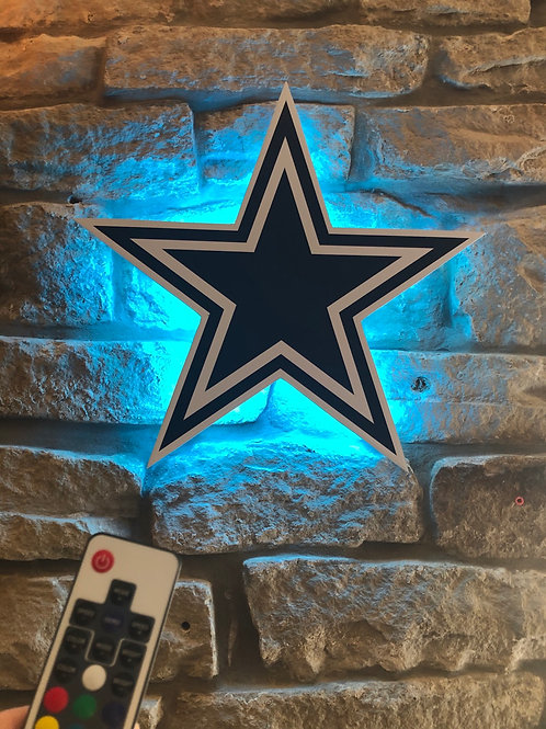 imake NFL Dallas Cowboys Wall Light