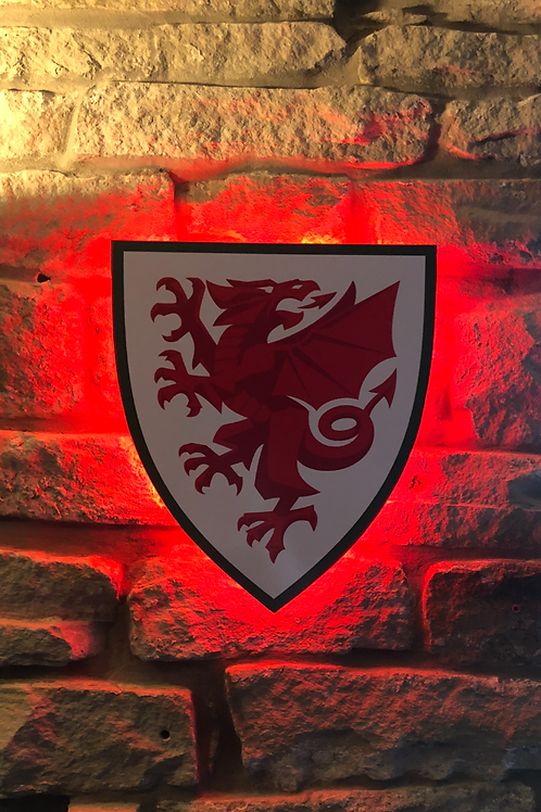 Wales National Football Team Wall Light
