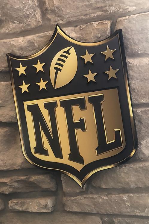 imake NFL Golden League Wall Badge