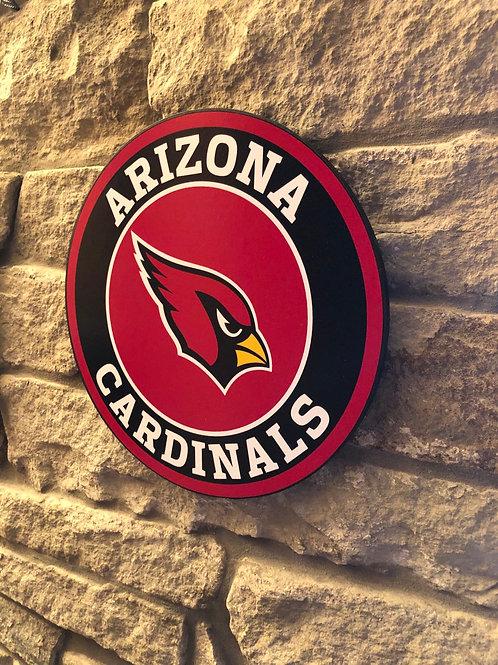 imake NFL Arizona Cardinals Wall Badge Circle