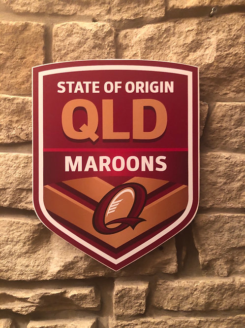 imake Queensland State of Origin RL wall badge
