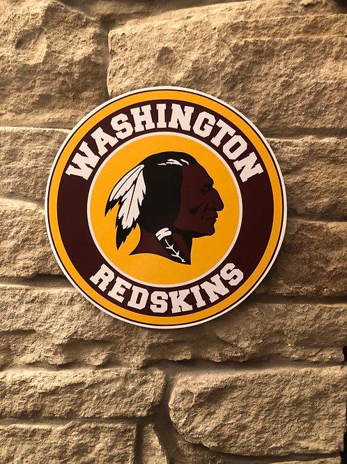imake NFL Washington Redskins Wooden Wall Badge