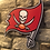 "Thumbnail: imake NFL Tampa Bay Buccaneers ""FLAG"" Wooden wall badge"