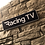 Thumbnail: Racing TV Wooden Wall Sign