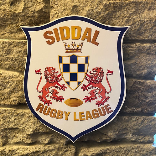 imake Siddal ARLFC MDF wall badge