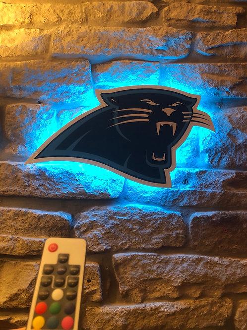 imake NFL Carolina Panthers Wall Light