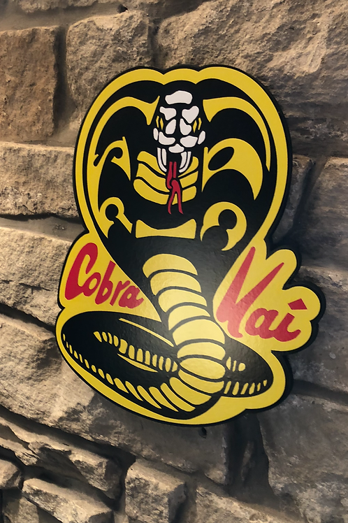 Kobra Kai (New Netflix addition) Wooden Wall Plaque
