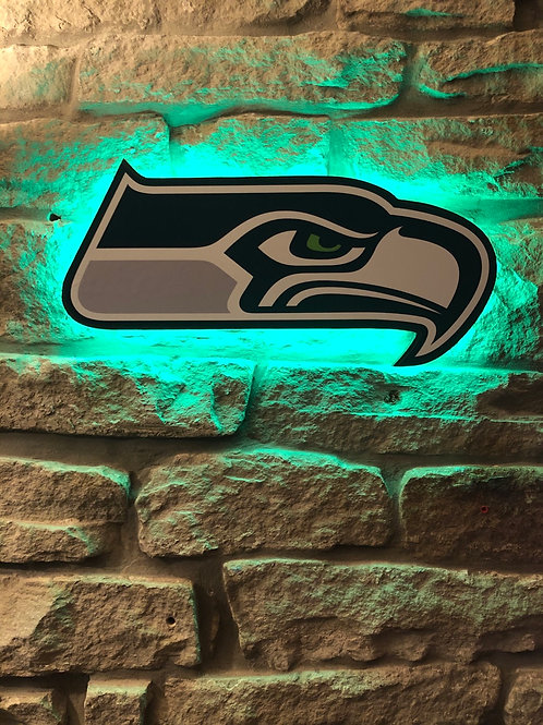 imake NFL Seattle Seahawks Wall Light with remote control