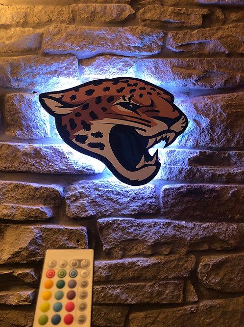 imake NFL Jacksonville Jaguars 2020 Logo Wall Light