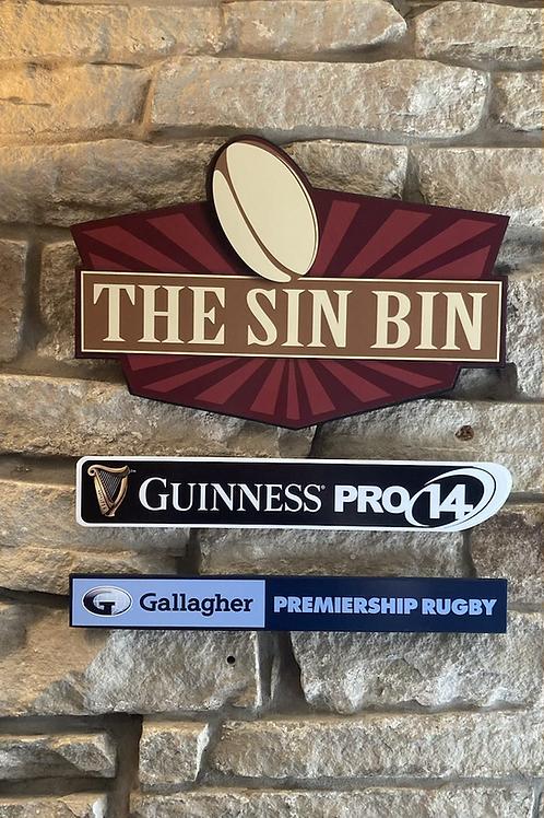 Ultimate Rugby Union Fan Wooden Wall Set