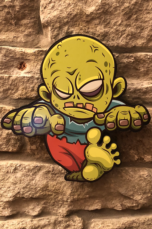 Zombie Nigel Wooden Figure