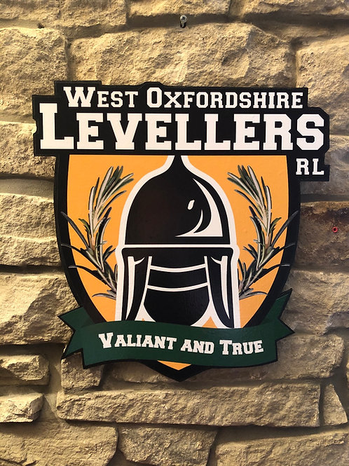 imake West Oxfordshire Levellers RL Wall Badge