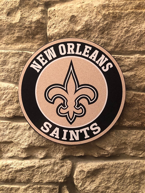 imake NFL New Orleans Wall Badge