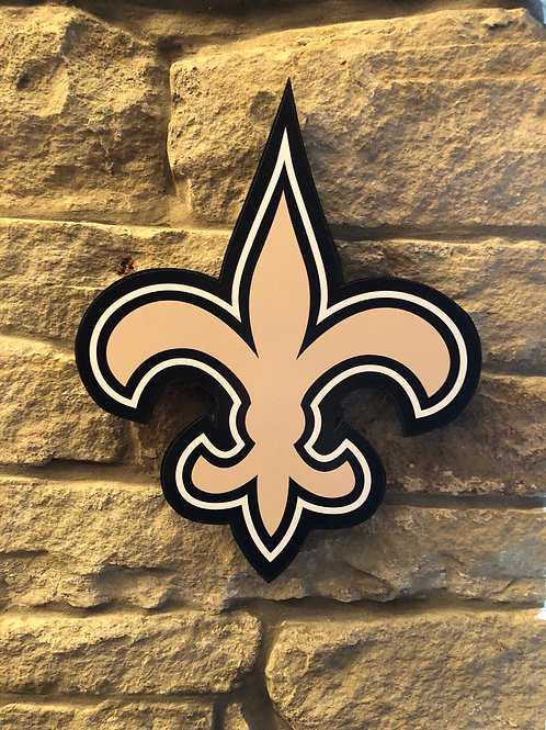 imake NFL New Orleans Saints wall logo