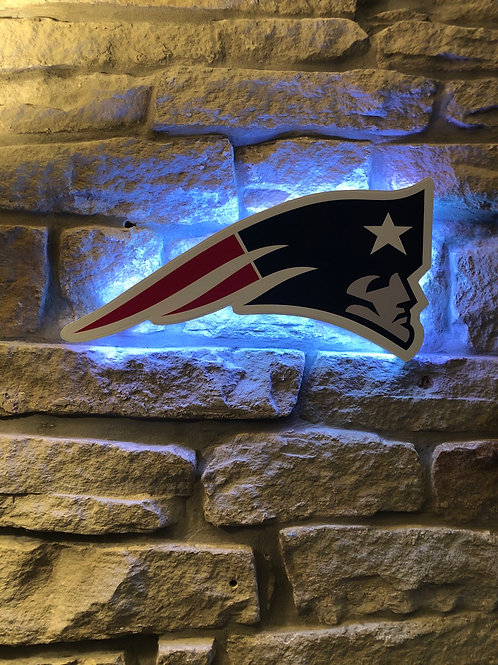 imake NFL New England Patriots 2020 Flying Head Wall Light