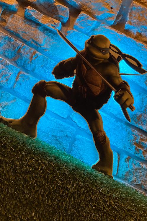TMNT Leo Wall LIGHT Action Figure