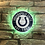 Thumbnail: imake NFL Rustic Wood effect Colts Wall Light