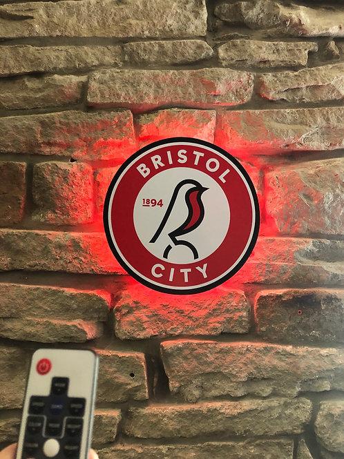 imake Bristol City Wall Light with remote control
