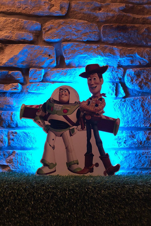 "TOY STORY ""buzz & woody Wall Light with remote control"