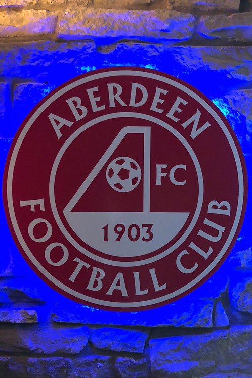 imake Aberdeen F.C. Wooden Wall Light