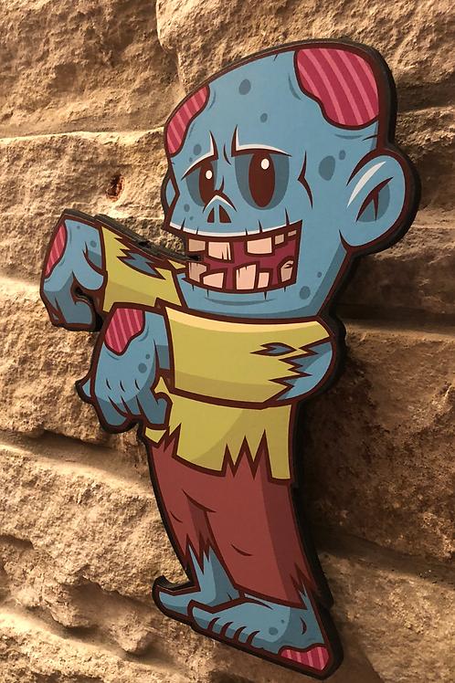 Zombie Stuart Wooden Figure