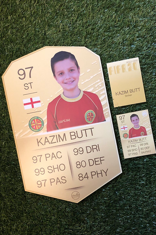 idesign Ultimate Personalised FIFA20 Gold Player Pack!