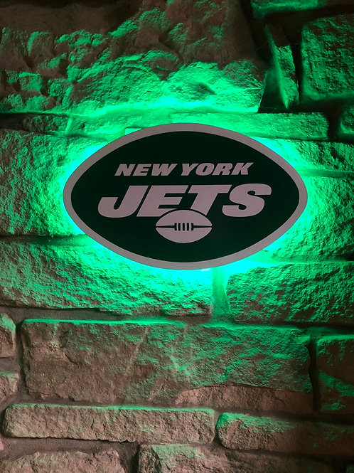 imake NFL New York Jets 2020 Logo Wall Light