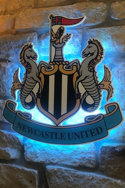 Newcastle United MDF Wall light