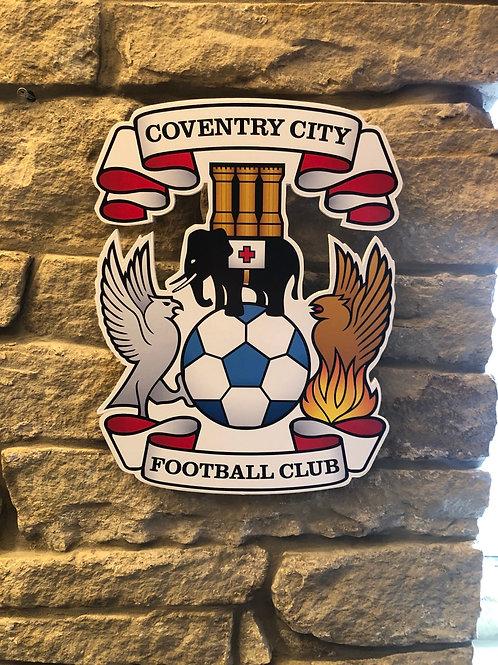 imake Coventry City FC Wall Badge