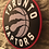 Thumbnail: imake NBA Toronto Raptors  Wooden Wall Badge