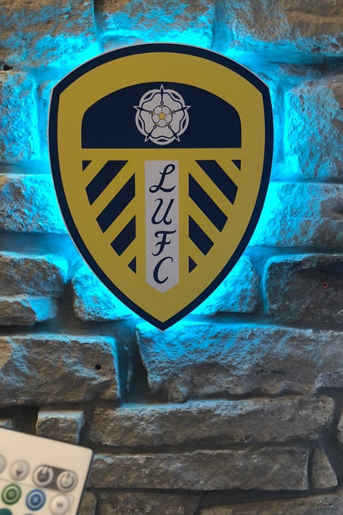 Imake Leeds United Wall light with remote control