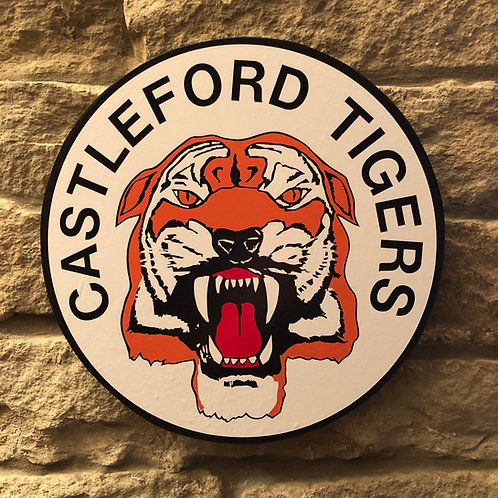 imake Castleford Tigers RL MDF Wall Badge