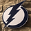 Thumbnail: imake NHL Tampa Bay Lightening Wooden Wall Badge
